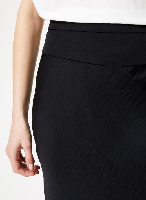 Vêtements Free People NORMANI BIAS SKIRT Noir vue face
