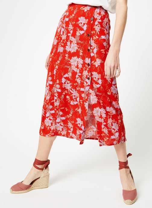 Vêtements Free People RETRO LOVE MIDI Orange vue détail/paire