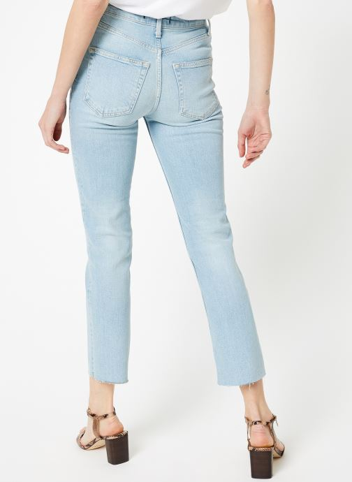 Kleding Free People HI SLIM STRAIGHT Blauw model