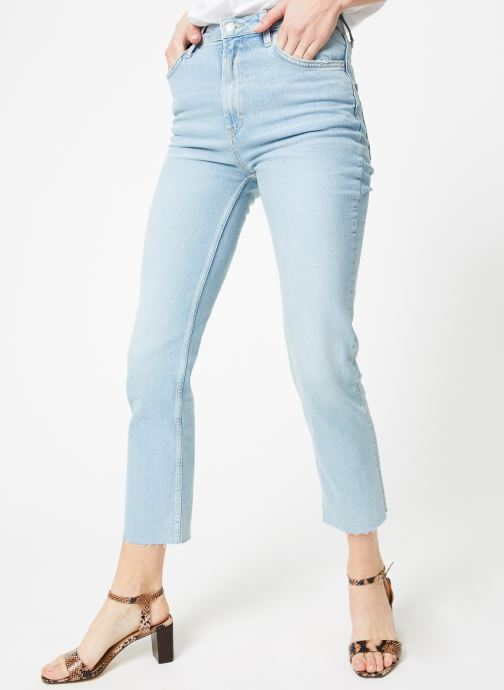 Kleding Free People HI SLIM STRAIGHT Blauw detail