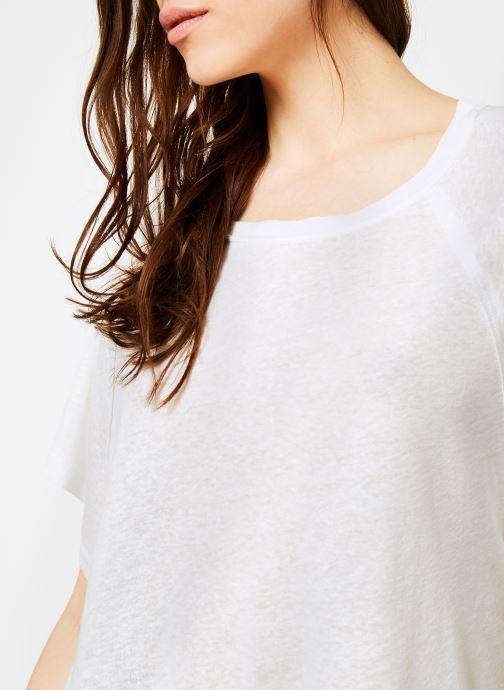 Vêtements Free People WEEKEND TEE Blanc vue face