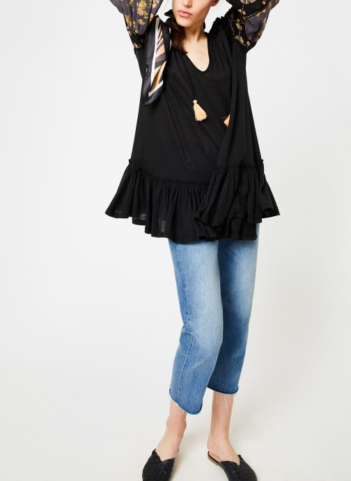 Kleding Free People MIX IT UP TUNIC Zwart onder