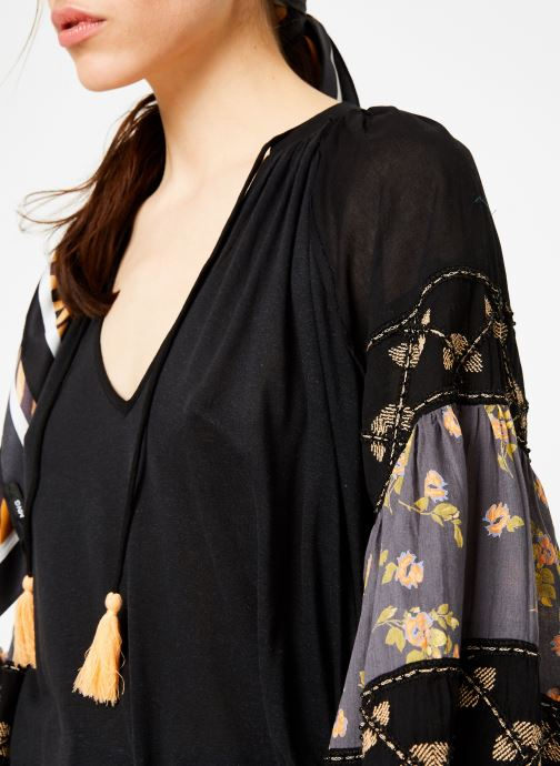 Kleding Free People MIX IT UP TUNIC Zwart voorkant