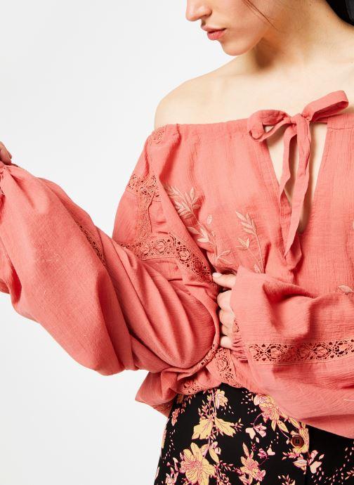 Free People Blouse - Maria Maria Lace Blouse (Orange) - Vêtements chez Sarenza (371569) SDVZj