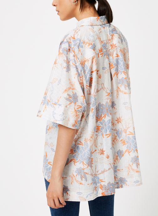 Free People Chemise - LOVE LETTERS BUTTONDOWN (Blanc) - Vêtements chez Sarenza (371571) wvoLH