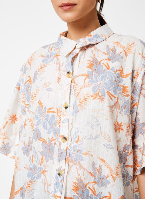 Vêtements Free People LOVE LETTERS BUTTONDOWN Blanc vue face