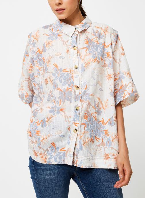 Vêtements Free People LOVE LETTERS BUTTONDOWN Blanc vue détail/paire