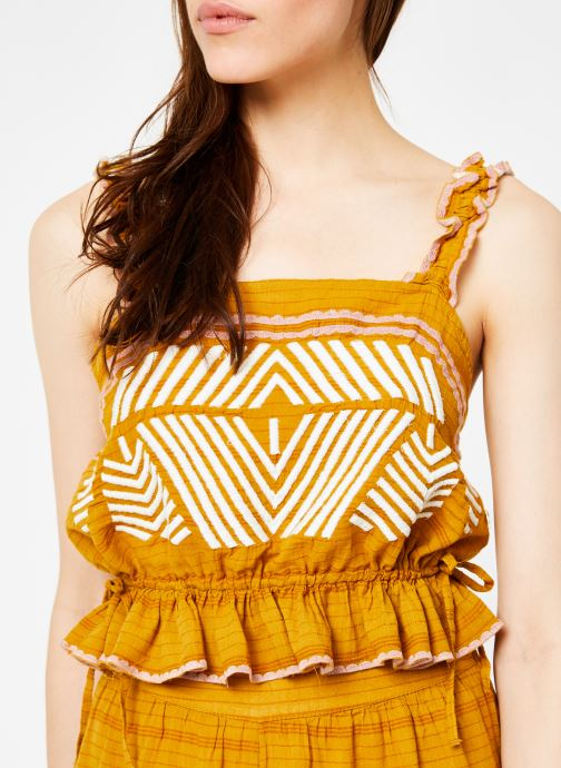 Vêtements Free People EVA SET Jaune vue face