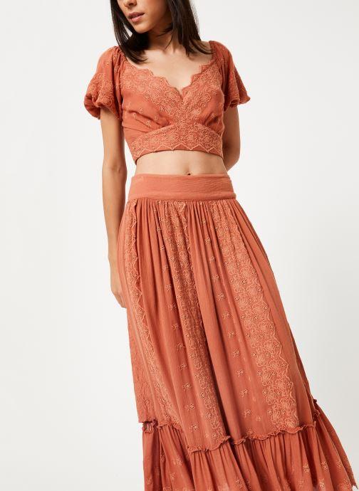 Vêtements Free People ELLA SET Rose vue détail/paire