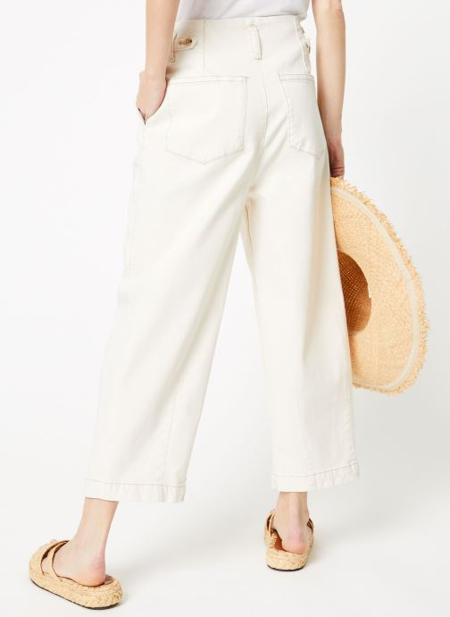 Kleding Free People PLEATED CARROT Wit model