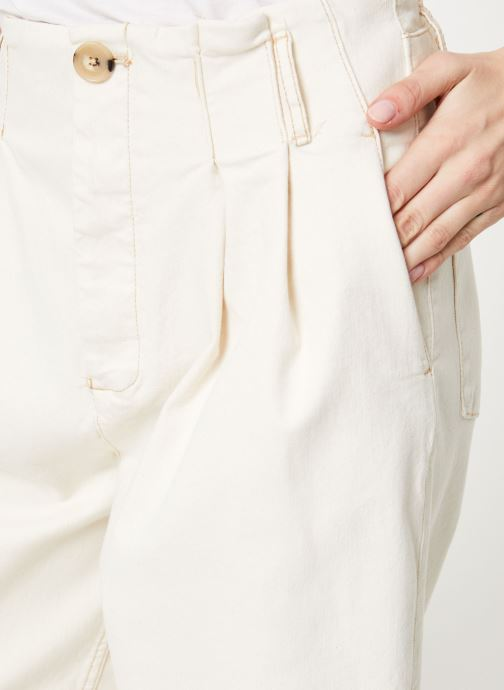 Kleding Free People PLEATED CARROT Wit voorkant
