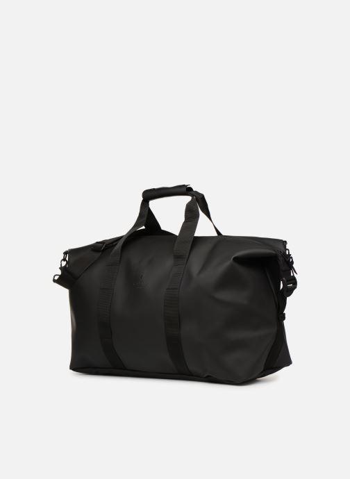 Bagages Rains  Weekend Bag NEW Noir vue portées chaussures