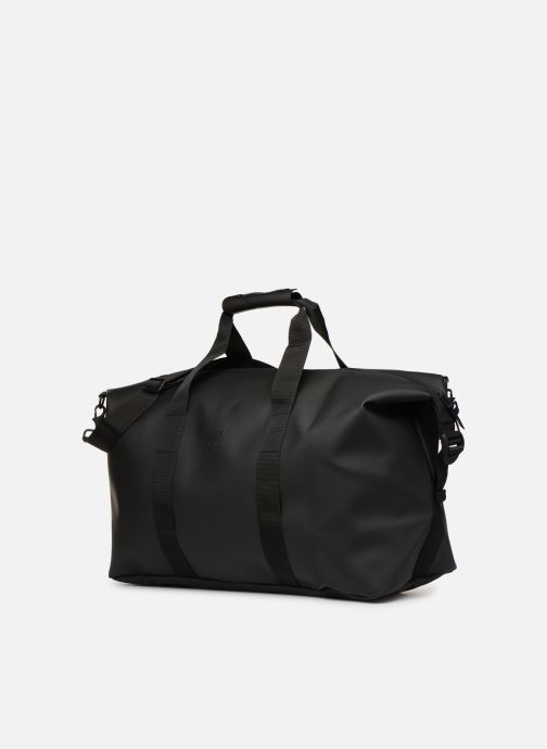 Equipaje  Rains  Weekend Bag NEW Negro vista del modelo