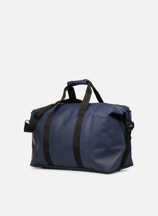 Equipaje  Rains  Weekend Bag NEW Azul vista del modelo