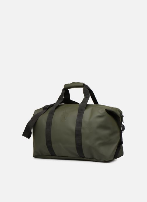 Bagages Rains  Weekend Bag NEW Vert vue portées chaussures