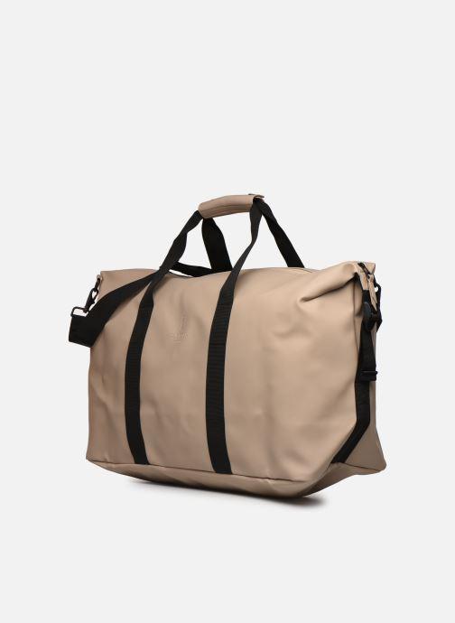 Equipaje  Rains  Weekend Bag NEW Beige vista del modelo