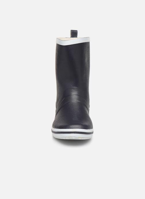 Bottes Be Only Emma W Bleu vue portées chaussures