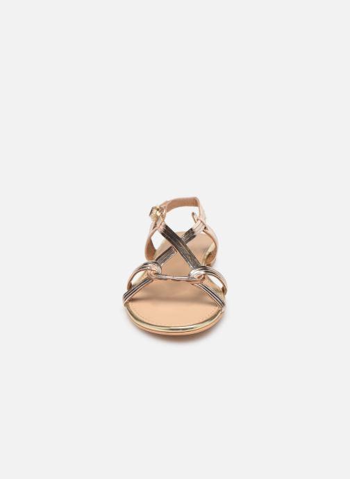 Sandals COSMOPARIS ILLAO/MET Bronze and Gold model view