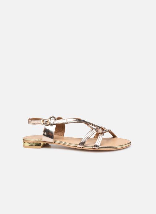 Sandals COSMOPARIS ILLAO/MET Bronze and Gold back view