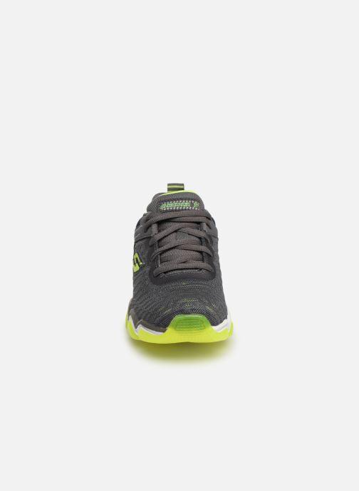 Baskets Skechers Boys Skech-Air 3.0 Gris vue portées chaussures