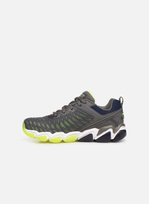 Sneaker Skechers Boys Skech-Air 3.0 grau ansicht von vorne