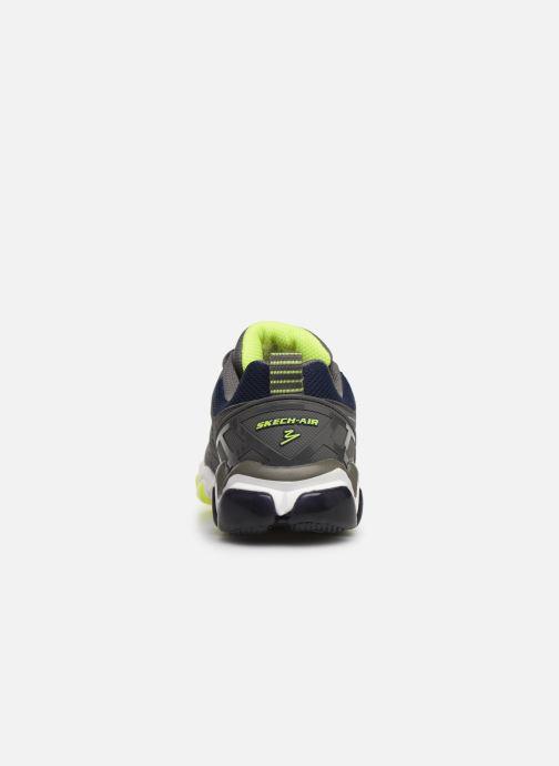 Sneaker Skechers Boys Skech-Air 3.0 grau ansicht von rechts