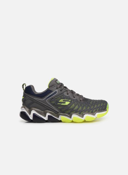 Sneaker Skechers Boys Skech-Air 3.0 grau ansicht von hinten
