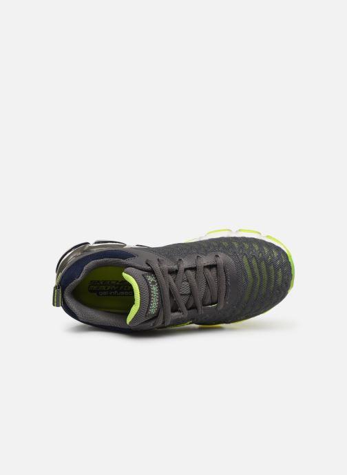 Sneaker Skechers Boys Skech-Air 3.0 grau ansicht von links