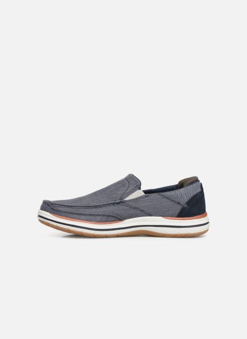 Sneakers Skechers ElsonAmster Blauw voorkant