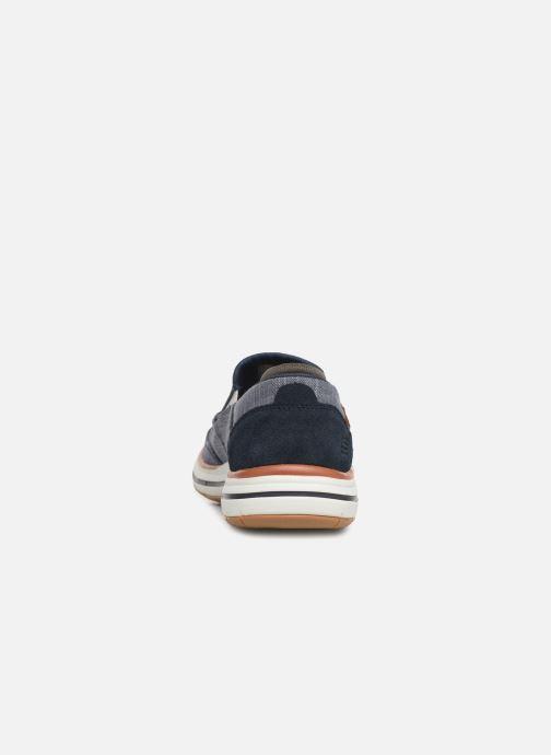 Sneakers Skechers ElsonAmster Blauw rechts