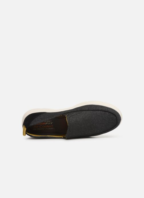 Sneakers Skechers Moogen Nero immagine sinistra