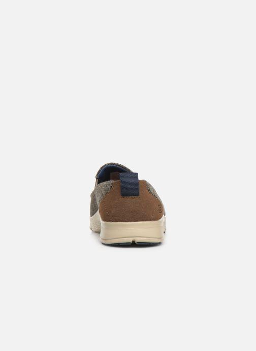 Sneakers Skechers Moogen Marrone immagine destra