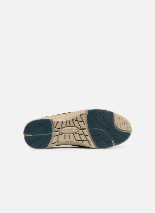Sneakers Skechers Moogen Marrone immagine dall'alto