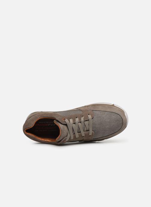 Sneakers Skechers EdmenRistone Marrone immagine sinistra