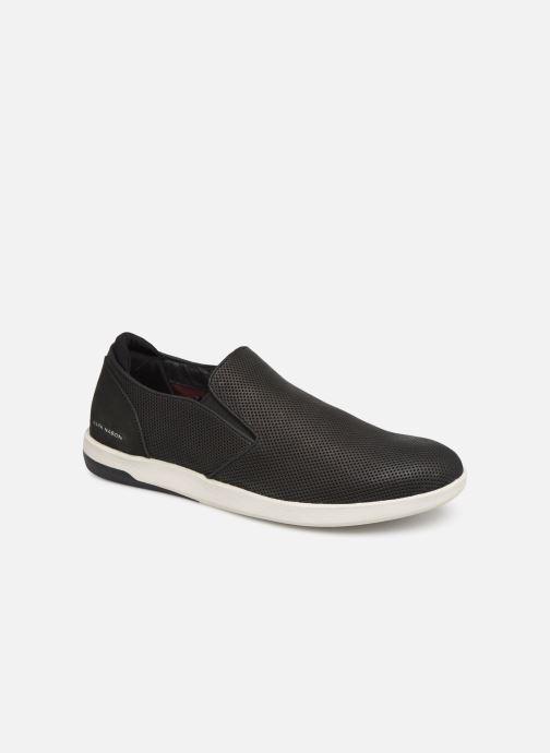 Sneakers Skechers Lite BlockFelton Sort detaljeret billede af skoene