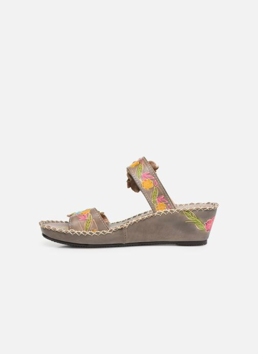 Mules & clogs Laura Vita Betsy 63 Grey front view