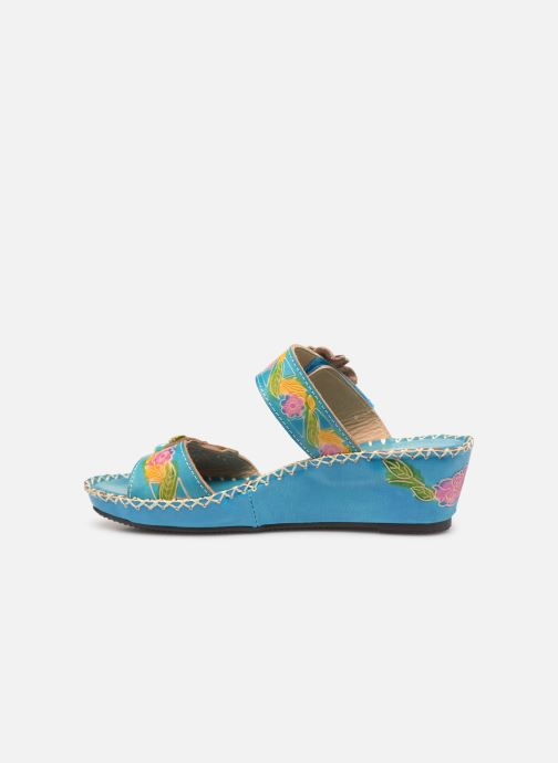 Mules & clogs Laura Vita Betsy 63 Blue front view