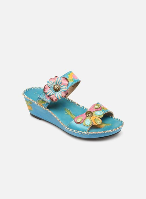 Mules & clogs Laura Vita Betsy 63 Blue detailed view/ Pair view