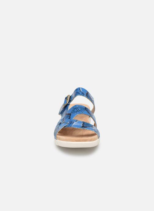 Sandales et nu-pieds Laura Vita Dobby 05 Bleu vue portées chaussures