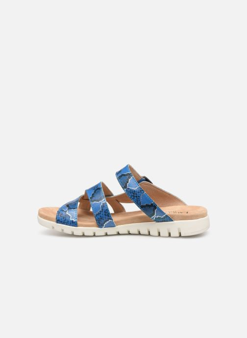 Sandales et nu-pieds Laura Vita Dobby 05 Bleu vue face