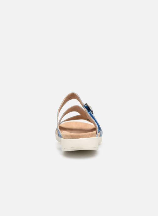 Sandales et nu-pieds Laura Vita Dobby 05 Bleu vue droite