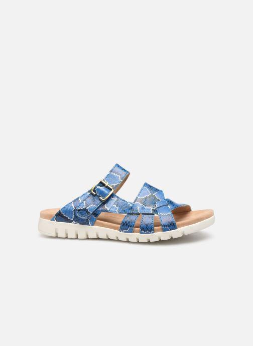 Sandales et nu-pieds Laura Vita Dobby 05 Bleu vue derrière