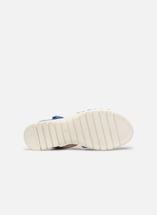 Sandales et nu-pieds Laura Vita Dobby 05 Bleu vue haut