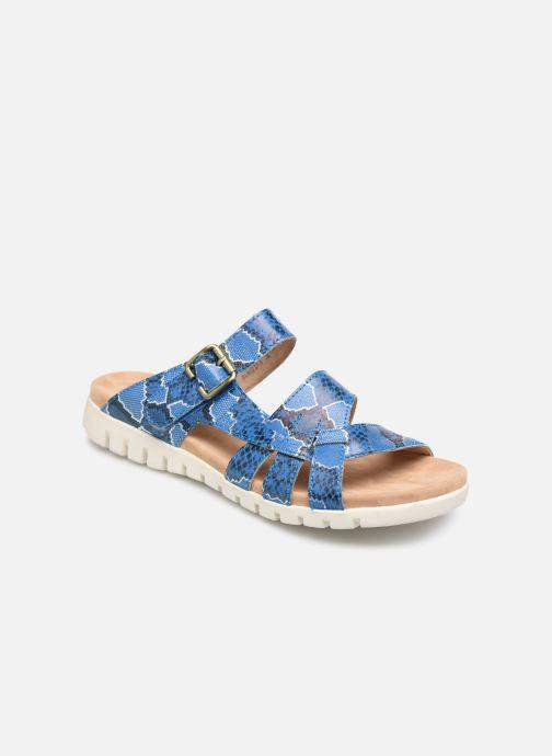 Sandales et nu-pieds Laura Vita Dobby 05 Bleu vue détail/paire