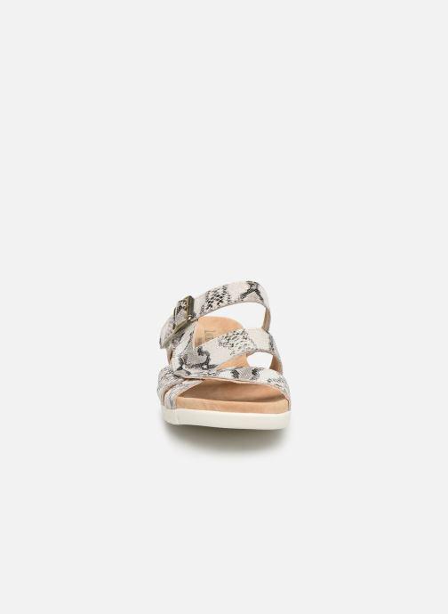 Sandales et nu-pieds Laura Vita Dobby 05 Gris vue portées chaussures