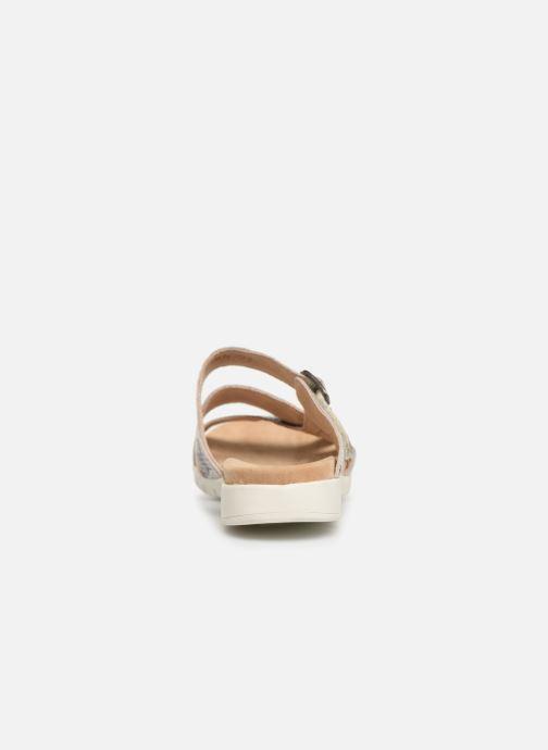 Sandales et nu-pieds Laura Vita Dobby 05 Gris vue droite