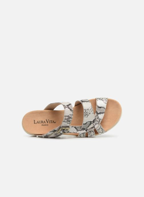 Sandales et nu-pieds Laura Vita Dobby 05 Gris vue gauche