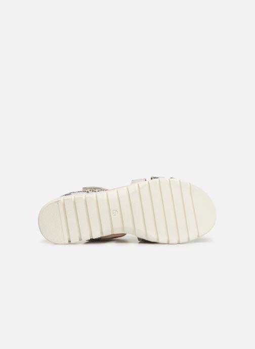 Sandales et nu-pieds Laura Vita Dobby 05 Gris vue haut