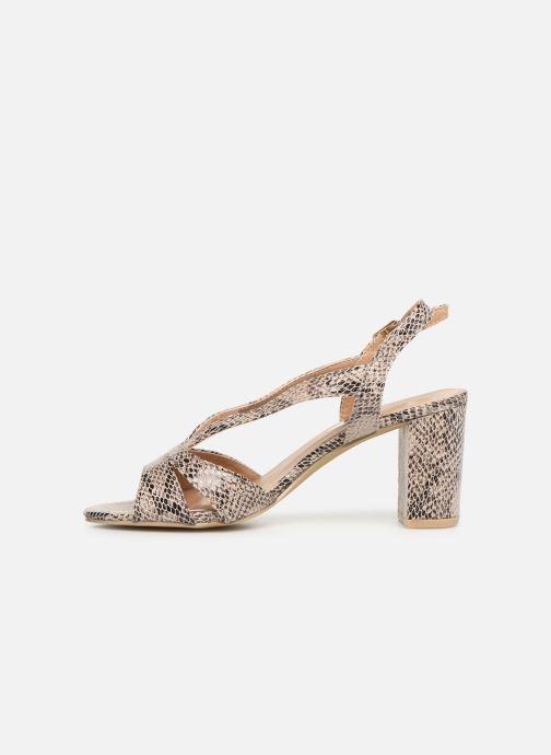 Sandales et nu-pieds I Love Shoes THAIALA Beige vue face