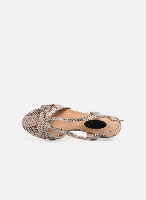Sandales et nu-pieds I Love Shoes THAIALA Beige vue gauche